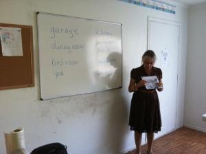 Nell teaching ESL