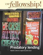 """""""They said it's a loan. It's a lie"""" — Baptists gather in New Orleans to protest paydayloans"""