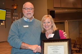 Alabama CBF Coordinator Terri Byrd receives Jack Naish Distinguished Christian Educator Award