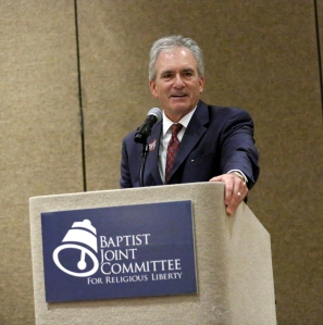 BJC Executive Director J. Brent Walker introduces guests at the 2013 Religious Liberty Council Luncheon at the CBF General Assembly in Greensboro, N.C.