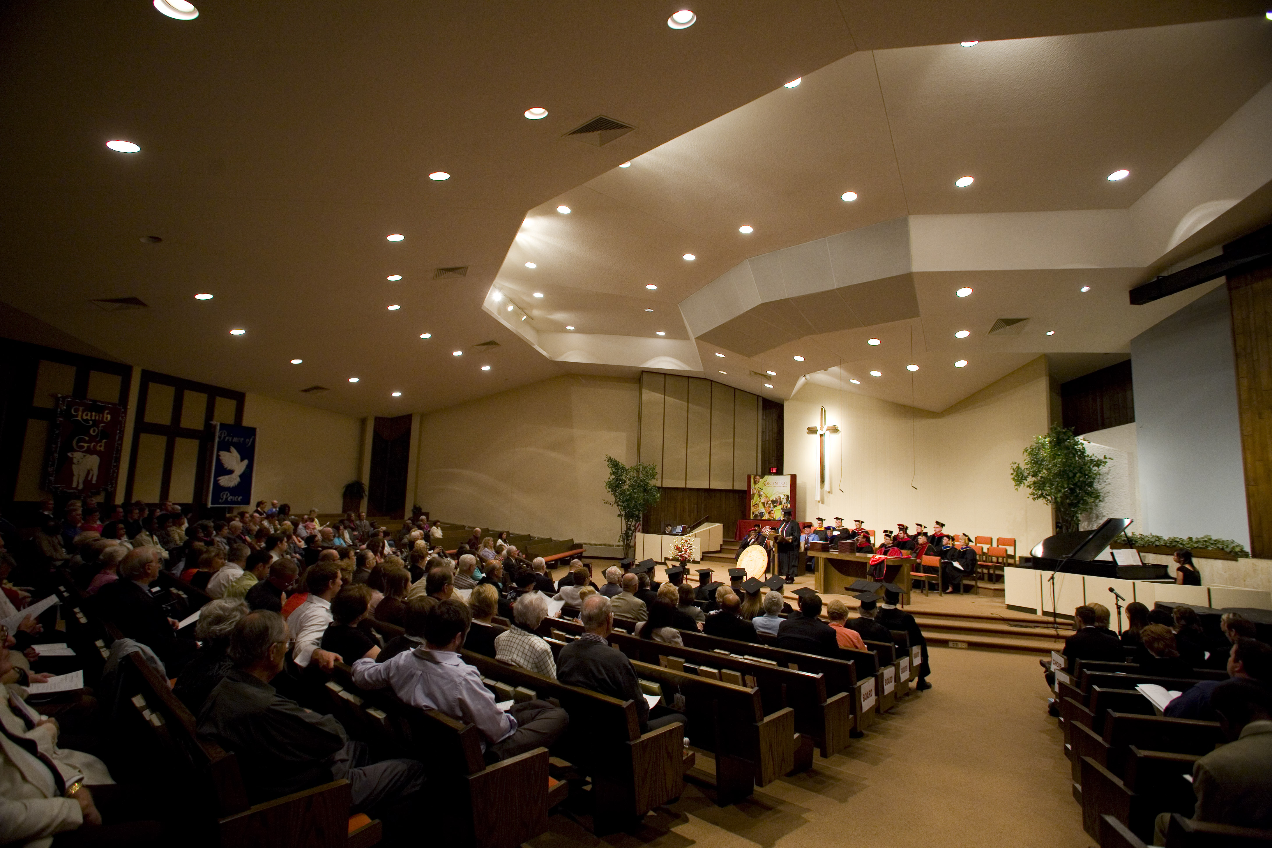 Cbf Churches Regularly Host Events For Central Such As The Commencement Ceremony Pictured Below At Holmeswood