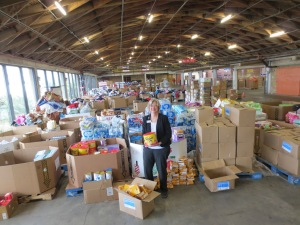 Food Bank. Pictured: Terri Drefke