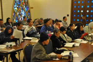 Central Seminary partnered with CBF field personnel Duane and Marcia Binkley to provide seminary training for ministry leaders of refugee communities from Mynamar.