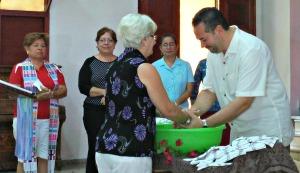 Handwashing and Sending Forth