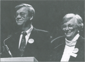 John David and JoAnn Hopper at the 1992 CBF General Assembly