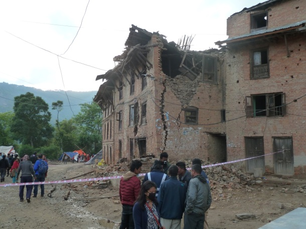 Historic housing blocks in Kathmandu will have to be raised and rebuilt.