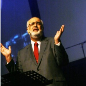 Luiz Soares Silvado of Brazil speaking during the Baptist World Congress in South Africa