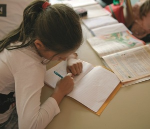 At the Ruth School in Bucharest, Romania, Roma children learn to read and write as well as learn about God in a place that accepts them and empowers them.