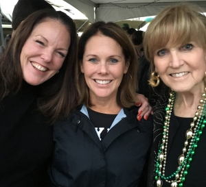 Babs Baugh (right) and her daughters Julie Cloud (left) and Jackie Baugh Moore (center).