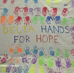 Student.Go and Delta Hands forHope