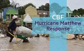 CBF joins global Baptists, plans response for HurricaneMatthew
