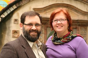 CBF field personnel Shane and Dianne McNary