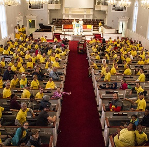 Hands on Kirkwood: Missouri church launches annual day of service that growscity-wide