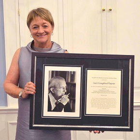 CBF's Suzii Paynter honored with Christian ethics award