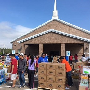 Cambodian Baptist Church's food fair morphs into Harvey recovery