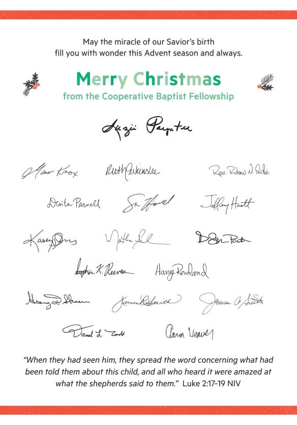 christmas card signatures - Christmas Card Signatures