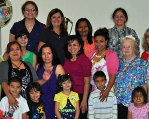 Adelante group with kids