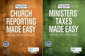 CBF Church Benefits: Free e-guides to assist ministers & churches with income tax filing