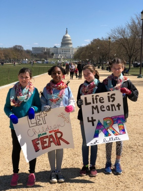 Life is Meant 4 Art, Not Bullets: A March for Our LivesReflection
