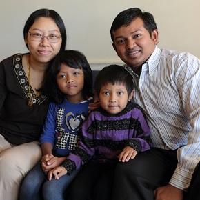Myanmar refugee couple and CBF field personnel create belovedcommunity