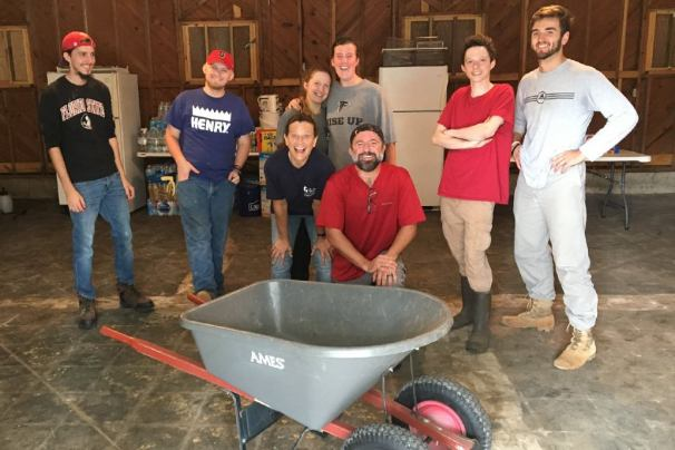 Teams from across the Fellowship are working in Eastern N.C. to restore homes and vital town facilities.