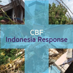 CBF and Baptist Forum for Aid Development provide relief and recovery in Indonesia