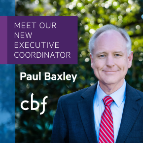 Baxley unanimously selected to lead CBF