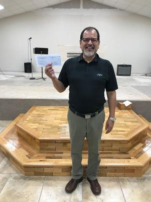 Pastor Robert Saenz of Primera Iglesia Asamblea de Dios in Corpus Christi, Texas
