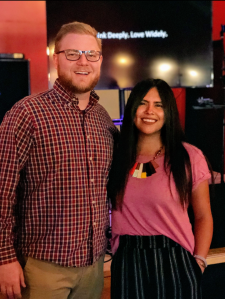 Kyle Tubbs and Aurelia Davila Pratt