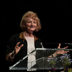 "Pursue ""love as a public good,"" NPR's Krista Tippett tells General Assembly"