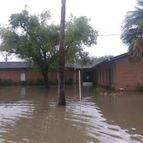 Downpour floods four Rio Grande Valley churches