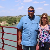 Jorge and Rosa Zapata; he is associate coordinator of CBF Texas and director of Fellowship Southwest's Immigrant Relief Ministry