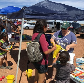 God's love blesses Navajo Nation through CBF West missions project inArizona