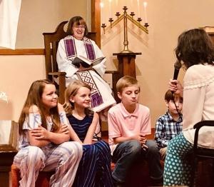 peacock_children's sermon