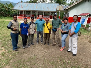 Rebana Staff in Palu - with Eddy & Mike