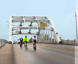riding pettus bridge