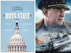 "Free CBF Screening Opportunities for Apple TV+ films ""Boys State"" and ""Greyhound"""