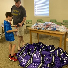 How One Church Demonstrates More Effective Crisis Relief in the Form of Backpacks