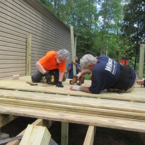 Hands-on Ministry: Making a Difference in Pendleton, S.C.