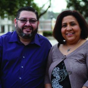 CBF field personnel Eddie and Macarena Aldape share faith & friendship to immigrants in Albacete,Spain