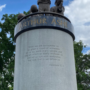 Arthur Ashe versus theConfederacy