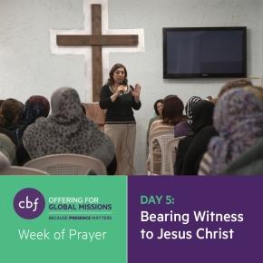 Bearing Witness to Jesus Christ: EstablishingFriendships